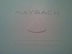 Slepotisk Maybach